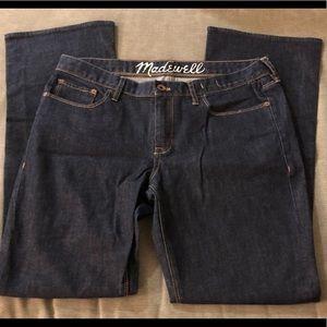 """Madewell"" Dark Bootcut Jeans"